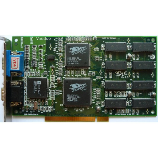 Scheda Video PCI 3DFX Voodoo 1 con 4 MB di RAM