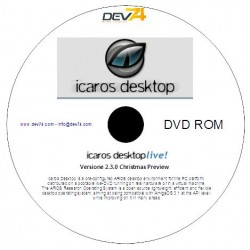 Icaros DeskTop Live DVD Versione 2.3.0 Christmas Preview