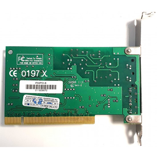 Internal Modem FAX Conexant IF56PCI-S Data Fax Communication