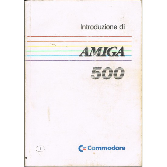 Introduzione di Amiga 500 Commodore