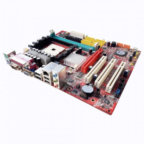 Scheda Madre MSI K8MM3 con CPU AMD Sempron 2800+ e 1 GB Ram DDR