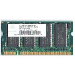 Modulo di memoria DDR SODIMM da 256MB 333mhz CL 2.5 PC2700