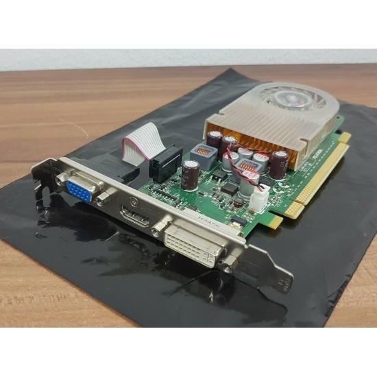Scheda Grafica HP NVIDIA GeForce G210 512Mb 64-bit PCIe 16x DVI VGA HDMI 533207-001 586382