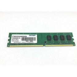 Modulo di memoria Ram DIMM DDR2 Patriot da 2GB DDR2-800 PC2-6400
