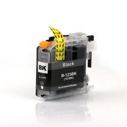 Cartuccia inchiostro nero compatibile LC123BK XL per stampanti Brother