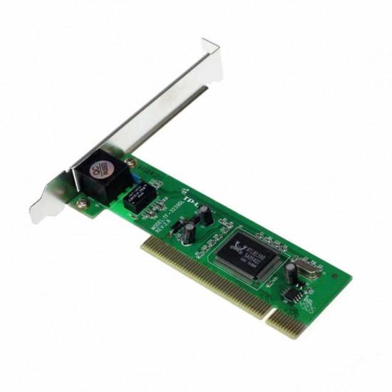 Scheda di rete interna PCI RTL8139D 10/100 Mbps con presa RJ45