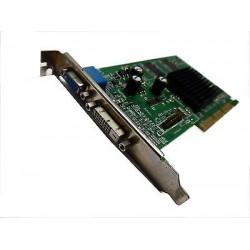 Scheda Video AGP ATI Radeon 7000 DVI-D con 32MB RAM DDR VGA + DVI-D