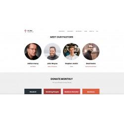 Realizzazione Sito Web Landing Page con responsività avanzata e tema grafico ottimizzato per tematiche in ambito Religioso Spirituale Culturale ecc..