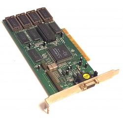 Scheda Video PCI per PC S3 Virge/DX Q5C2BB 86C375 9811 BB755 con 4 MB di Ram