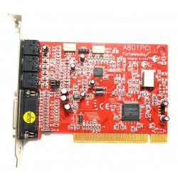 Scheda Audio interna PCI ForteMedia A-801