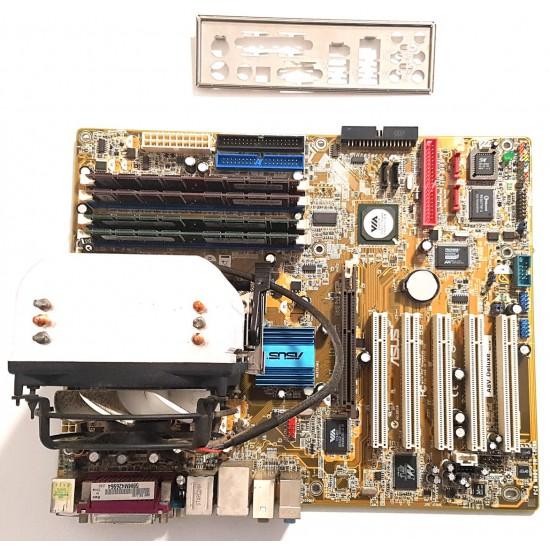 Scheda Madre ASUS A8V Deluxe con Processore e RAM