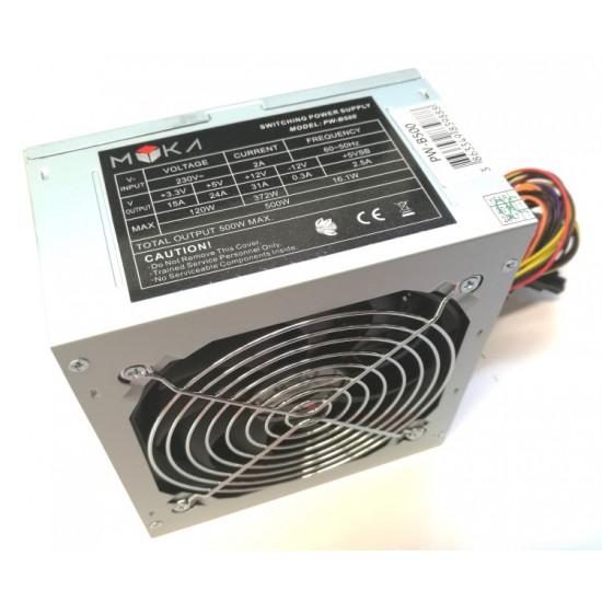 Myka PW-B500 500 Watt ATX Power Supply