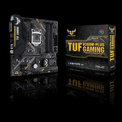 ASUS B360M-PLUS GAMING motherboard with socket 1151 and 4 x DDR4