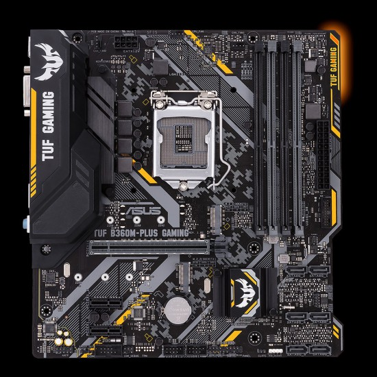 Scheda madre ASUS B360M-PLUS GAMING con socket 1151 e 4 x DDR4