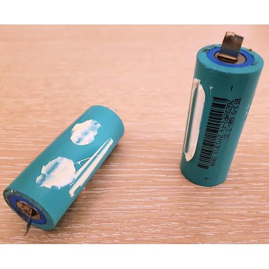 Batteria Litio Ferro Fosfato tipo LiFePo4 dimensione 26650