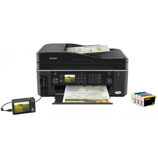 Stampante Multifunzione a getto di inchiostro A4 con Fax e WIFI Epson SX610FW