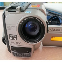 SONY CCD-TR69E Video8 Hi-Band HI-FI Stereo Video Camera