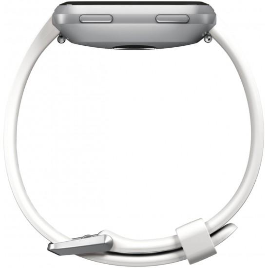 Cinturino bianco originale per SmartWatch FitBit Versa misura L/G