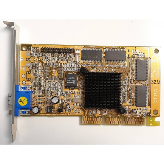 AGP CM64A video card with 32MB
