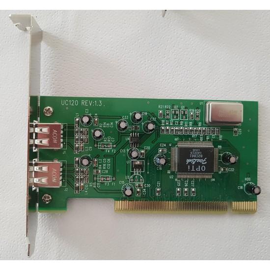PCI internal USB 2 controller