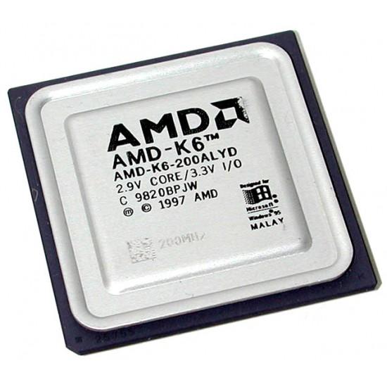 CPU AMD K6 200 ALYD 200 Mhz