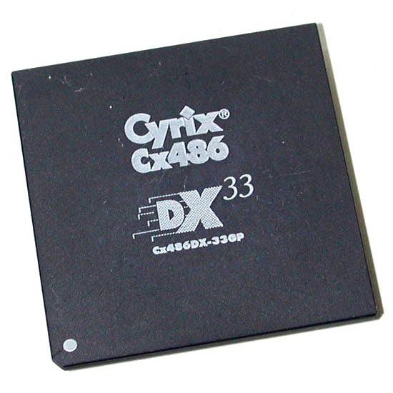 CPU Cyrix Cx486 DX33 GP