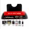 Docking Station per HardDisk SATA con card reader e hub USB 2