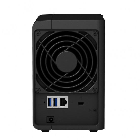 Soluzione Completa Server Synology DS218 con 4 TeraByte di Storage Incluso