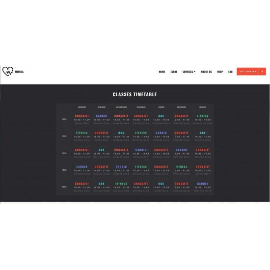 Realizzazione Sito Web o Landing Page con grafica responsiva avanzata e tema grafico correlato al mondo dello Sport e attività connesse
