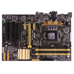 ASUS H87-Plus motherboard with LGA1150 CPU slots USB3 and SATA3