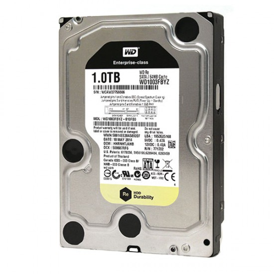 Hard Disk Western Digital Enterprise-class WD1003FBYZ 010FB0 da 1TB SATA3 WD Re