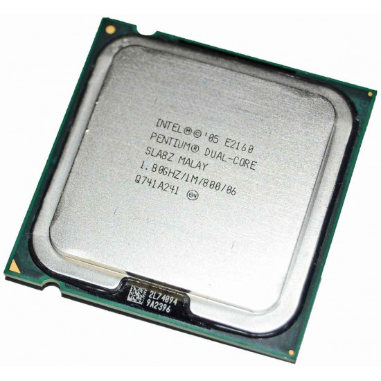 CPU Pentium E2160 Dual Core 1,8Ghz con dissipatore e ventola originale
