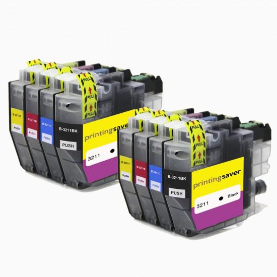 Set di cartucce LC-3211 per stampanti Brother