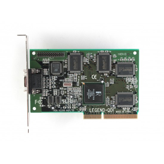 Legend QDI VGA V2200 AGP/3D Video Card