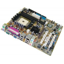 ASUS K8V-MX Motherboard with AMD Sempron 2800+ & 1 GB DDR 400 Processor