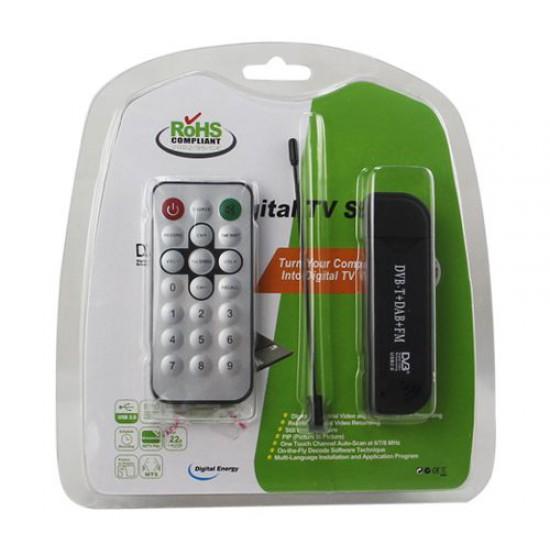 Micro Ricevitore Digitale Terrestre su pennetta USB2