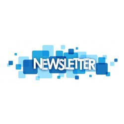 NewsLetter service with layout and responsive graphic theme