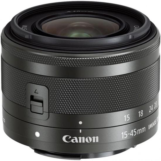 Obiettivo Canon 15-45 per Canon EOS050