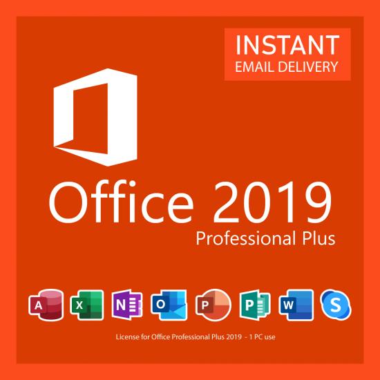 Microsoft Office 2019 Professional Plus 3 PC