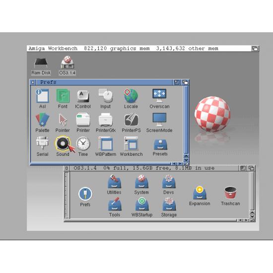 AmigaOS 3.1.4 con ROM per Amiga 4000 DeskTop