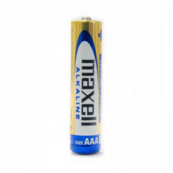 Pila Alkalina Maxell AAA 1,5 Volt