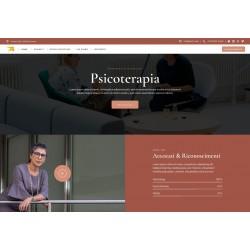Realizzazione Sito Web Landing Page con responsività avanzata e tema grafico ottimizzato per attività di consulenza medica studi medici ecc..
