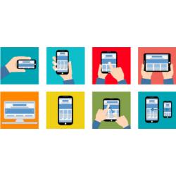 Realizzazione Sito Web mono o multipagina responsivo interattivo