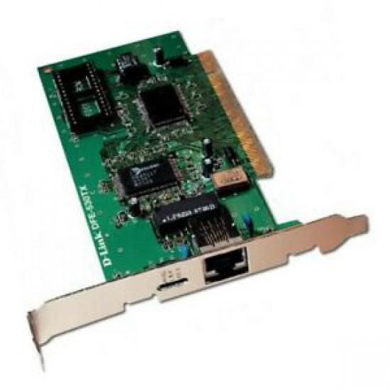 Scheda di rete interna PCI D-Link DFE-530TX Rev A1 8DFE530TX2A1 100MBit/s