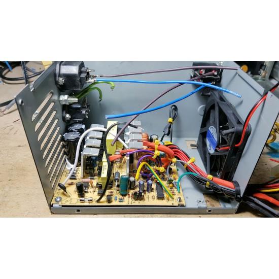 Ricostruzione revisione riparazione alimentatore per sistemi AMIGA 2 3 e 4000 con elettronica ATX di ultima generazione