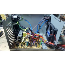 Total power supply revision repair rebuilding for AMIGA system 2 3 and 4000 with latest ATX power supply