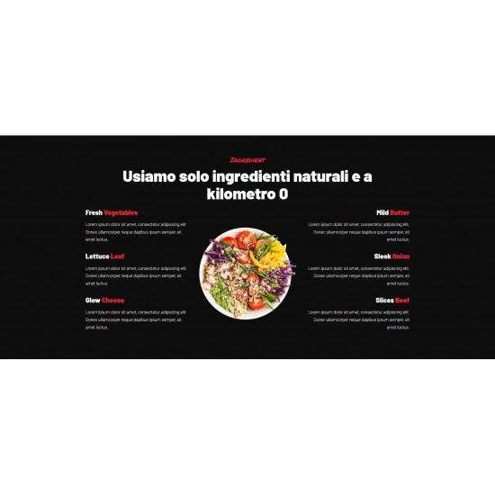 Realizzazione Sito Web Landing Page con responsività avanzata e tema grafico ottimizzato per la ristorazione