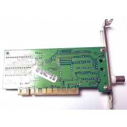 10 Megabit/s Ethernet PCI network card with RJ45 and BNC RTL8029AS connector