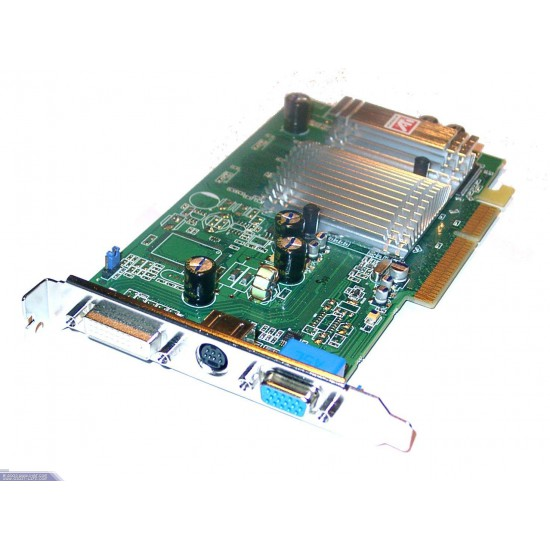 AGP Ati Radeon 9600SE Video Card with 128 MB ram Video Out