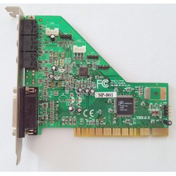 Scheda Audio ForteMedia SP-801 PCI